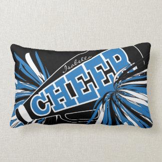 Beifall-Megaphon - blaue Cheerleader Lendenkissen