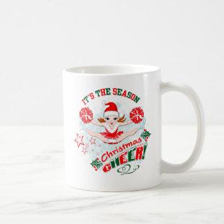 Beifall-Tasse der Cheerleader Weihnachts Kaffeetasse