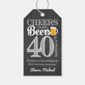 Beifall und Biere zu 40 Jahren Geschenk-Umbau- Geschenkanhänger