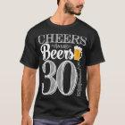 Beifall und Biere zu den 30 Jahren der T - Shirt