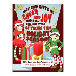 Beifall-und Freude-Feiertags-Karten 16,5 X 22,2 Cm Einladungskarte