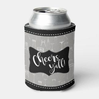 Beifall Yall   komisches Bar-Glasmuster-Bier-Party Dosenkühler