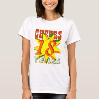 Beifall zu 18 Jahren Geburtstags- T-Shirt