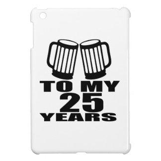 Beifall zu meinen 25 Jahren Geburtstags- iPad Mini Hülle
