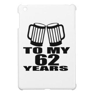 Beifall zu meinen 62 Jahren Geburtstags- iPad Mini Hülle