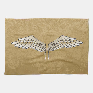 Beige Flügel Küchentuch