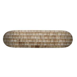beige hölzerne Wandbeschaffenheit des Schmutzes Personalisiertes Deck