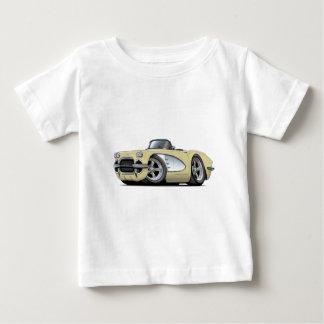 Beige Kabriolett 1961 Korvette Baby T-shirt