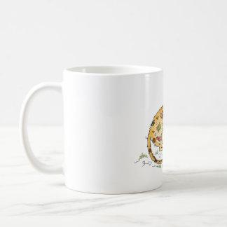Beige Maus mit Flicken Kaffeetasse