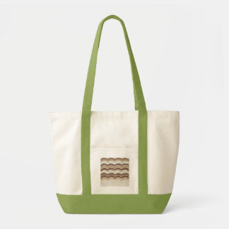 Beige Mosaik-Antrieb-Tasche Tragetasche