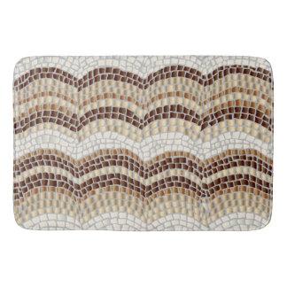 Beige Mosaik-große Bad-Matte Badematte