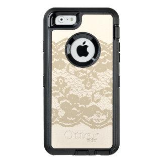 Beige Spitze OtterBox iPhone 6/6s Hülle