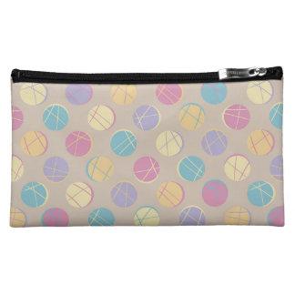 Beiger Colorful polka dots vintage rück cute bag