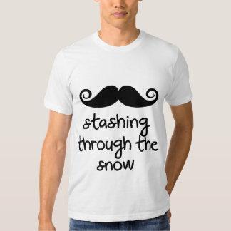 Beiseite schaffen durch den Schnee! Shirt