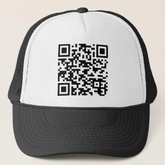 BeispielBitcoin QR Code Truckerkappe