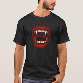 Beißen Sie mich Entwurfs-Shirts T-Shirt