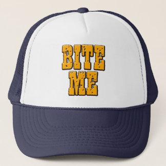 Beißen Sie mich Hut Truckerkappe