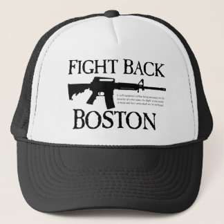 BEKÄMPFEN SIE BOSTON! TRUCKERKAPPE