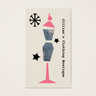 Bekleidungsgeschäft-Butike - Jean u. rosa Visitenkarte