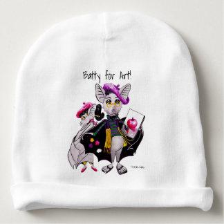 Bekloppt für Kunst! Baby-Strumpfhut Babymütze