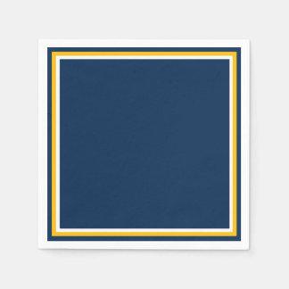 Belastetes Blau Serviette