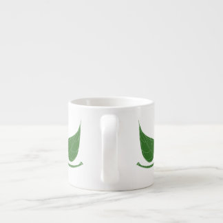 Belaubte Espresso-Tasse Espressotasse