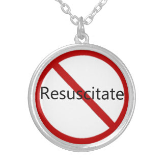 Beleben Sie nicht wieder Halskette Mit Rundem Anhänger