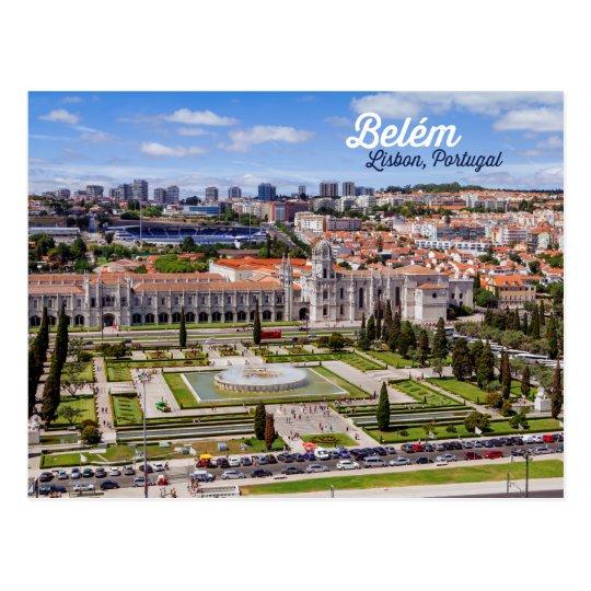 Belém, Lissabon, Portugal Postkarte