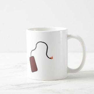 Beleuchten Sie die Sicherung Kaffeetasse