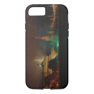 Beleuchtung des Kremls, 1883 (Öl auf Leinwand) iPhone 8/7 Hülle