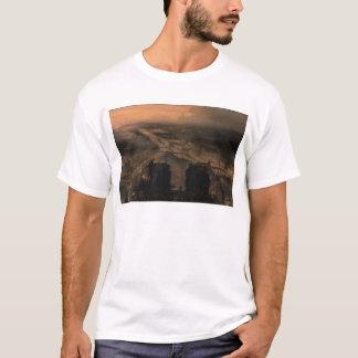Beleuchtung von Notre Dame T-Shirt