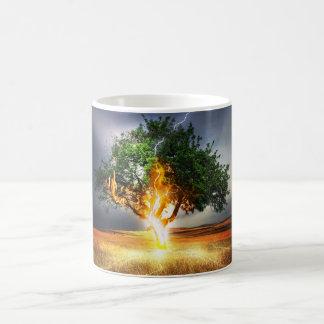 Beleuchtungs-Baum Kaffeetasse