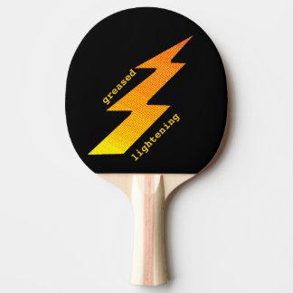 Beleuchtungs-Bolzen-Klingeln Pong Paddel Tischtennis Schläger