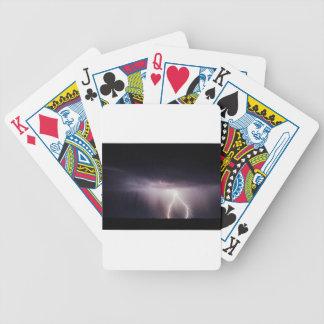 Beleuchtungs-Bolzen (Sturm) Bicycle Spielkarten