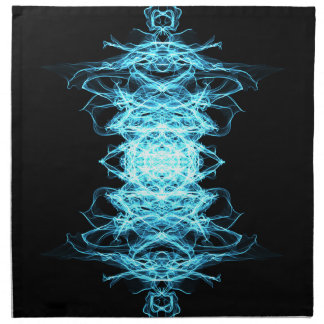 Beleuchtungs-Mandala Stoffserviette