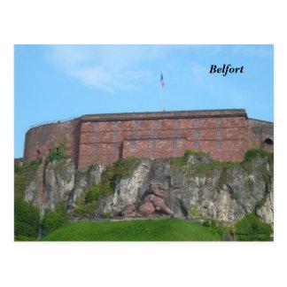 Belfort - postkarte
