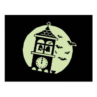 Belfry schlägt Mond Postkarte