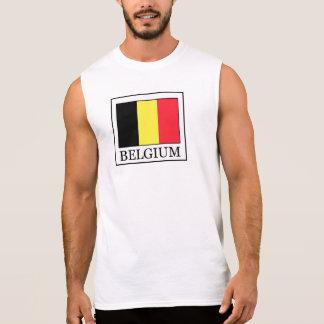 Belgien Ärmelloses Shirt