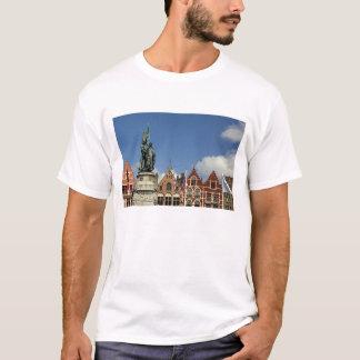 Belgien, Brügge (alias Brug oder Bruge). UNESCO T-Shirt
