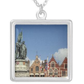 Belgien, Brügge (alias Brug oder Bruge). UNESCO Versilberte Kette