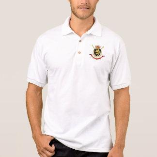 Belgien-Emblem Poloshirt