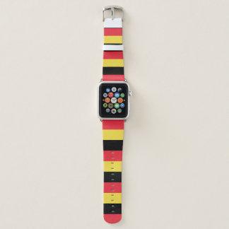 Belgien-Flagge Apple Watch Armband