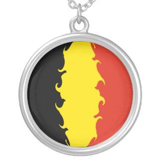 Belgien-Flagge Amuletten