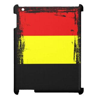 Belgien-Flagge iPad Hülle