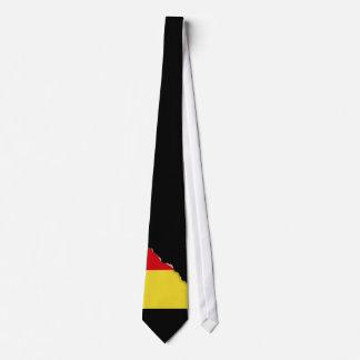 Belgien-Flagge Krawatte