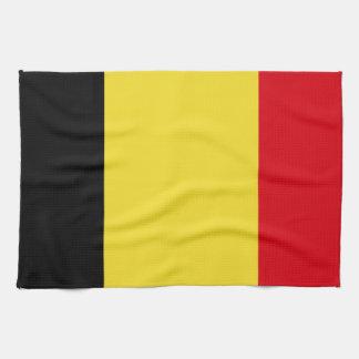Belgien-Flagge Küchentuch