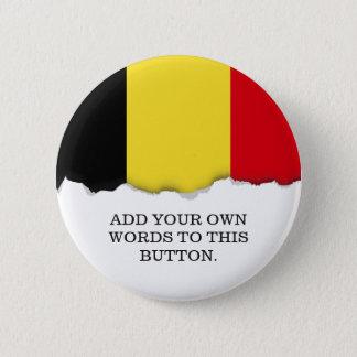 Belgien-Flagge Runder Button 5,1 Cm