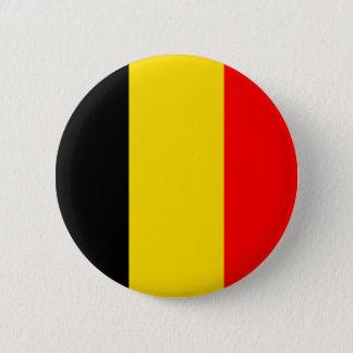Belgien-Flagge Runder Button 5,7 Cm
