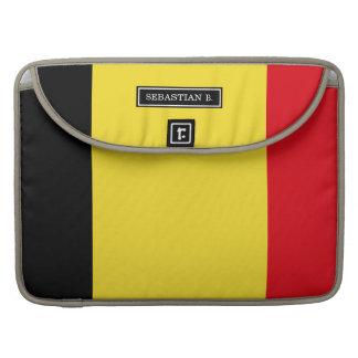 Belgien-Flagge Sleeve Für MacBooks