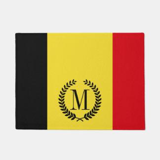 Belgien-Flagge Türmatte